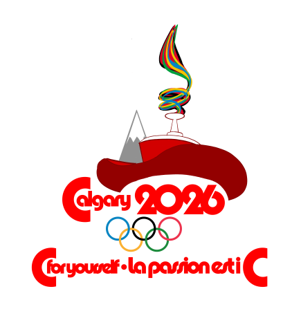 The logo for the Olympic portion of the Games.