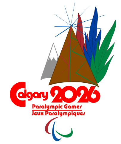 The logo for the Paralympic portion of the Games