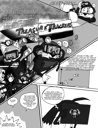 Page 14. © 2016. SEGA/Sonic Team, Akira Takahashi.
