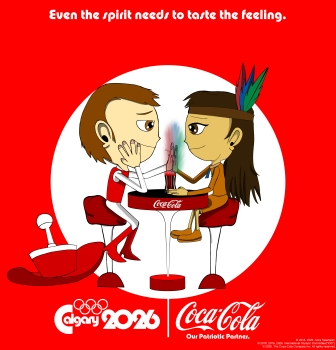 Hick and Hia Coca Cola ad small