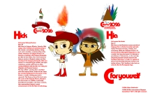 The profiles of Hick & Hia.