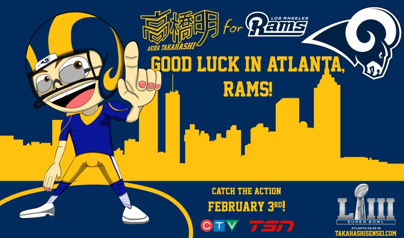Go Rams Superbowl 2019